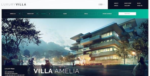 Luxury Villa PSD