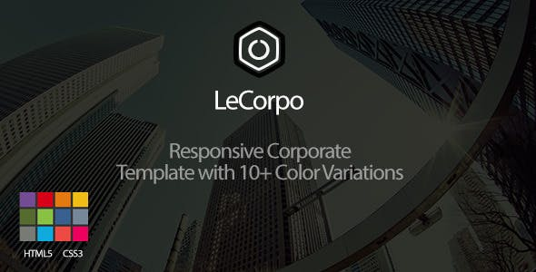LeCorpo  - Onepage Business Template