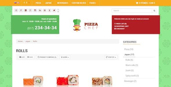 Chef Delivery - E-shop HTML Bootstrap Template