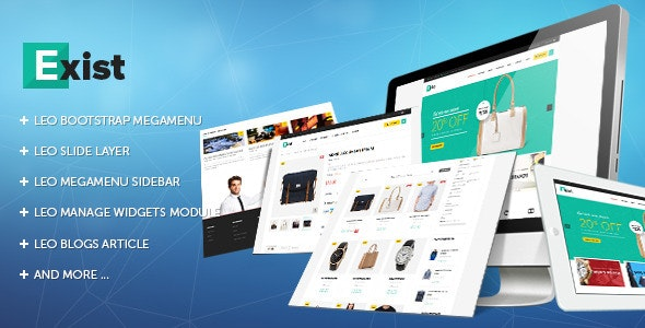 Leo Exist Theme - Fashion PrestaShop