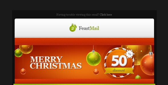 FeastMail 2 - Christmas Email Template